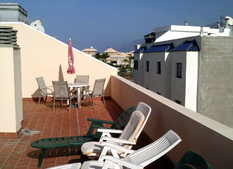 Large family apartment with views of Mount Teide and the ocean from the roof terrace.This property i, Spain