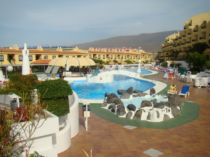 A delightful apartment on a touristic complex in the heart of San Eugenio. The apartment has been re,Spain