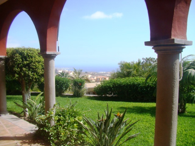 This fabulous villa offers one of the biggest plots of land in South Tenerife, with beautiful garden, Spain