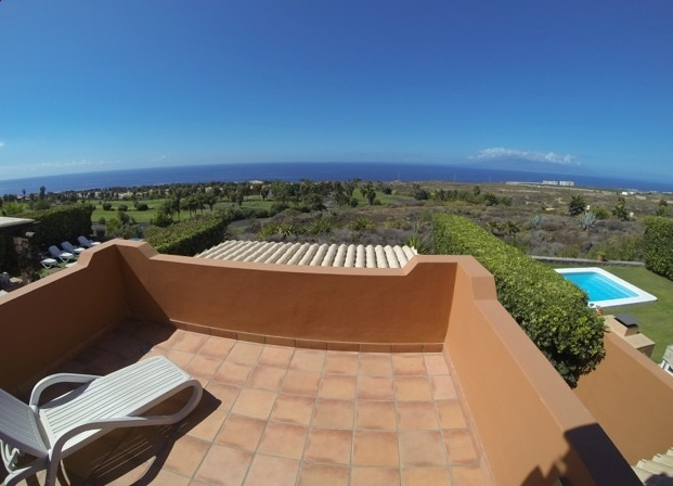 A luxury villa overlooking the Adeje Gof Course. This is undoubtedly one of the most exclusive areas, Spain